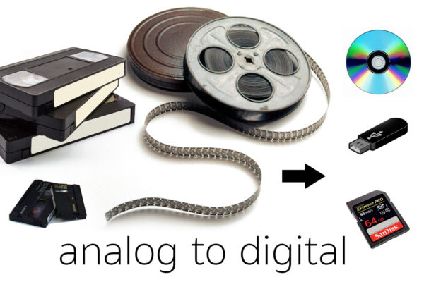 We transfer all Film and video tape formats to digital